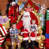 Ruby &amp; Louis 2012 Santa Photos : 