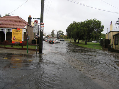 Flooding in Sydney